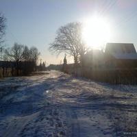 Деревня Новосильцего (ФОТО с конца деревни)