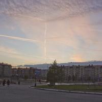 Закат над Пойковским