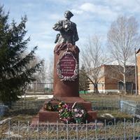 Памятник И.С. Кутякову в с. Красная Речка