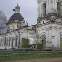 с. Поречье, Троицкая церковь, май 2009
