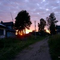 Екимково.закат