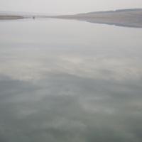 вид с берега каменки