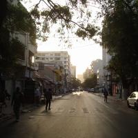 утро на улице Дакара