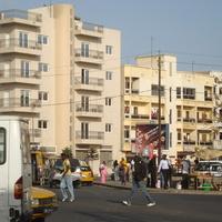 на улице Дакара
