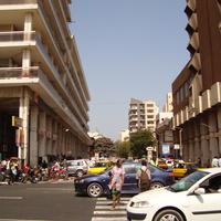 в центре Дакара