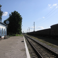 ЖД станция. Пути.