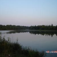 Плотина на р. Сухмань у Барово