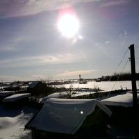 огороды под снегом