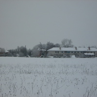 Зима в посёлке