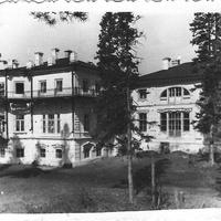 Савали, здание техникума со стороны Малмыжа 1961 год