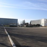 Площадь возле дома культуры