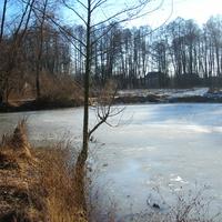 Река Белоус зимой