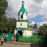 Церковь с. Новоберёзовка август 2011 г.