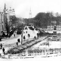 Архангельск пл.ЛОМОНОСОВА 1924год