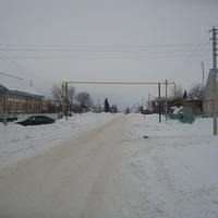 Центральная улица - Советская. Протяженность примерно 3 км.