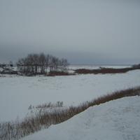 Зимняя Сульча - под покровом льда и снега
