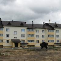 Новый дом в микрорайоне по ул. Мира