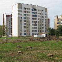 Улица 50 лет Октября (площадка для строительсва Белагропромбанка)