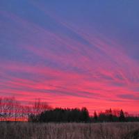 Холодный восход над Локотней