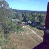 Вид на Суводь с колокольни
