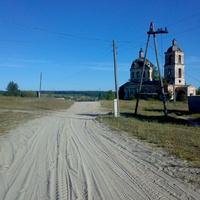 Выезд из села Суводь