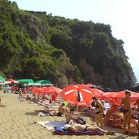 Пляж Могрен. В сторону Будвы.