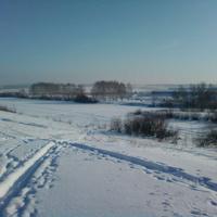 зима 2012. озеро Новое