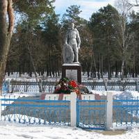 Воинское захоронение возле ОСШ №7