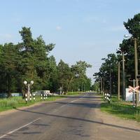 Улица Подольская, вид со стороны д. Антоновка