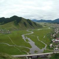 Усть-Кан, место слияния рек Кан и Чарыш