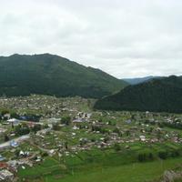 Усть-Кан, центральная часть села