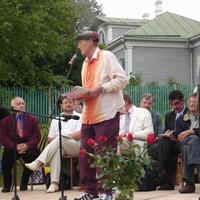 Евтушенко на дне памяти Блока в Шахматово.