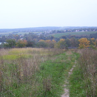 Вид на окрестности из Спас-Коркодино.