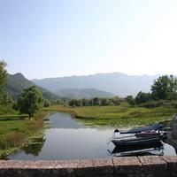 Речушка, ведущая на Скадарское озеро