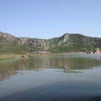 Рыбаки на Скадарском озере