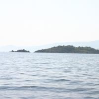 Остров издали