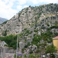 Стена, ведущая к крепости Святого Ивана.