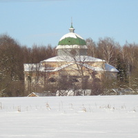 троіцька церква взимку