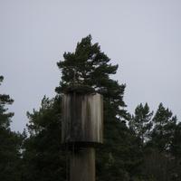 Водонапорная башня в Распопово