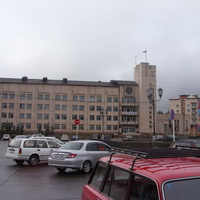 Центральная площадь. 2009 г.