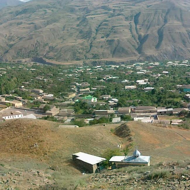 Панорама села Луткун