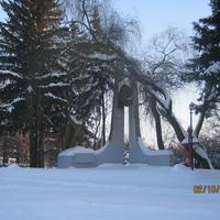 """монумент """"великой отечественной войне""""."""