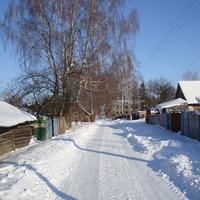 улица в центре села