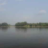 Усть Ургал, август 2011 г. вид с речки Бурея