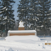 Владимир Ильич Ленин.(в снежной шубке)