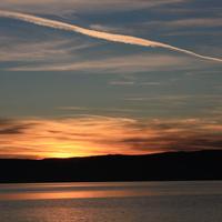 закат в Листвянке