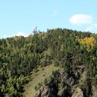 Большой солнечный вакуумный телескоп в Листвянке