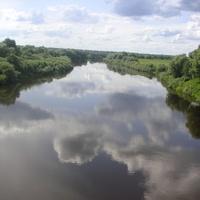 Река Пола.Вид с моста
