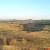 Вид з гори Козинець