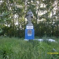 Памятник в с.Биляр-Озеро